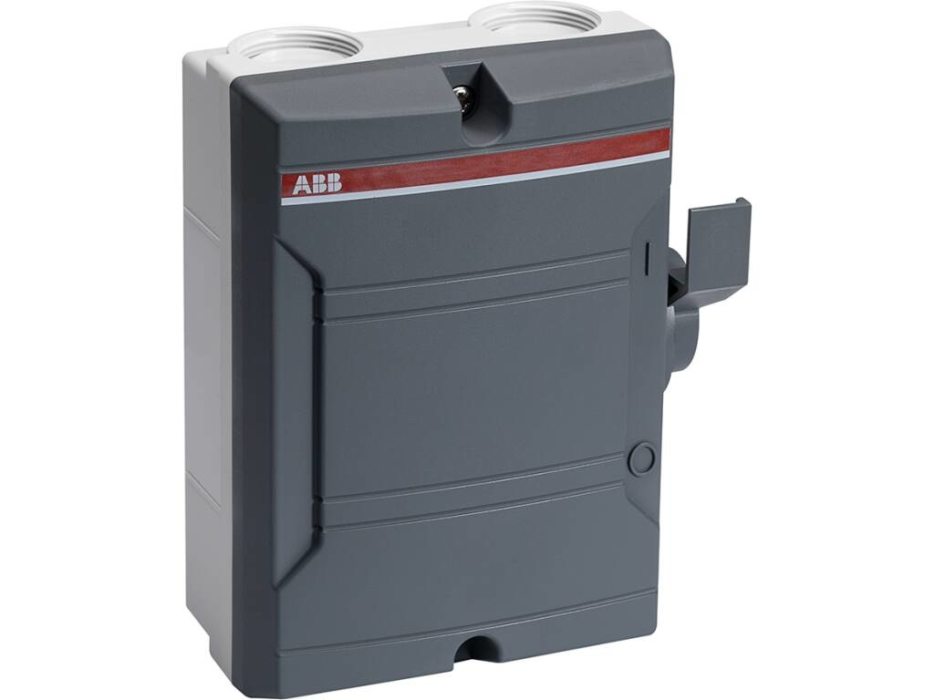 ABB AC Werkschakelaar - 4 Polig