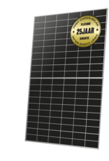 First Choice Solar FCSP375WBS-120N 375WP White Backsheet Platinum
