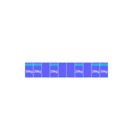 Montageset Zuid - 10 panelen 1081-1184MM
