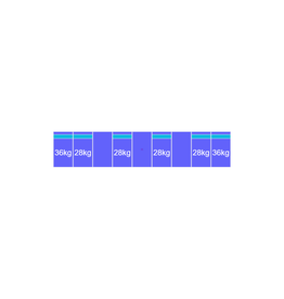 Montageset Zuid - 9 panelen 1081-1184MM