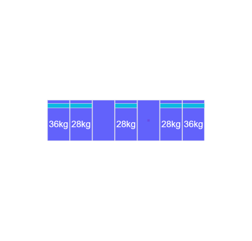 Montageset Zuid - 7 panelen 972-1080MM