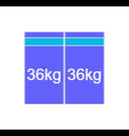 Montageset Zuid - 2 panelen 972-1080MM