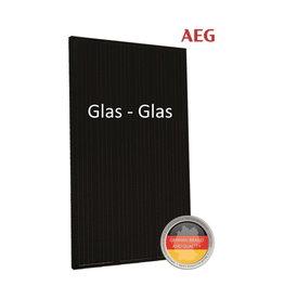 AEG 330WP Glass-Glass Zwart Frame