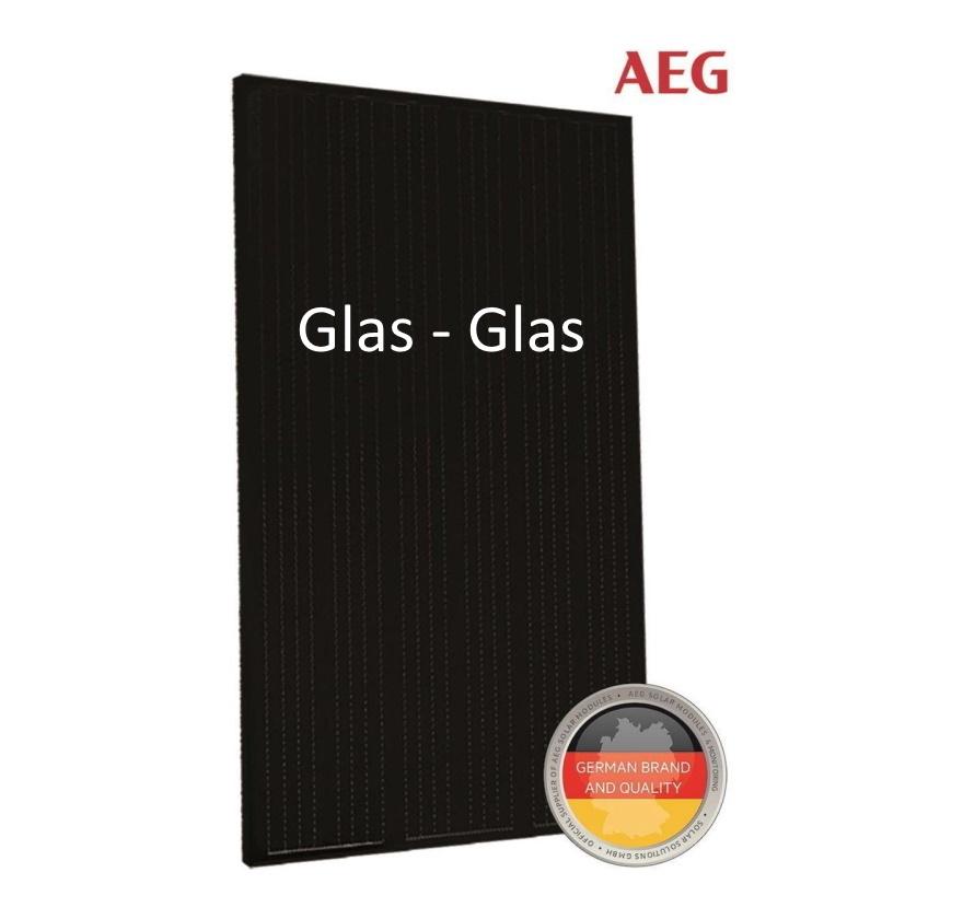 AEG AS-M1202GGLAS-BDD-330 330WP Glass-Glass Zwart Frame