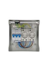 Green Line PV Verdeler 2 x Stopcontact