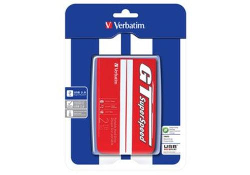 Verbatim Store N Go 2,5 2 TB Red/White