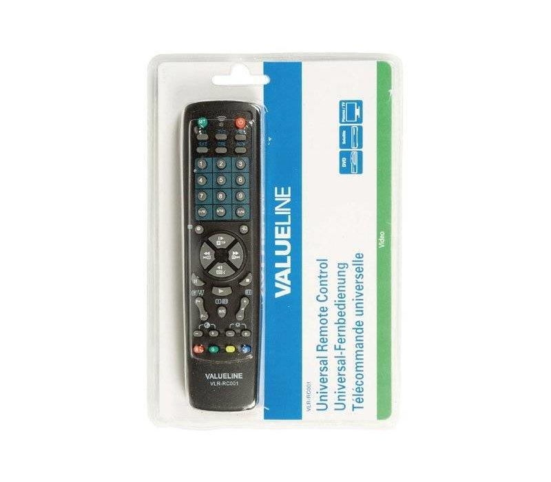 VLR-RC001 Universele afstandsbediening