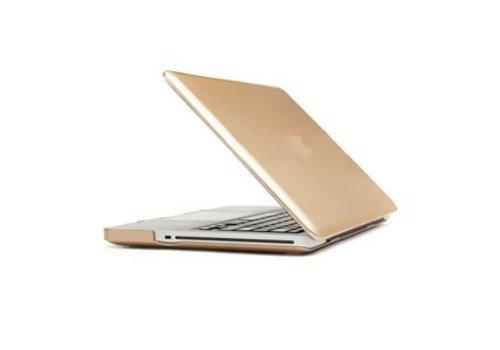 Blu-Basic MacBook Pro Retina 13 inch Harde beschermhoes (Goud)
