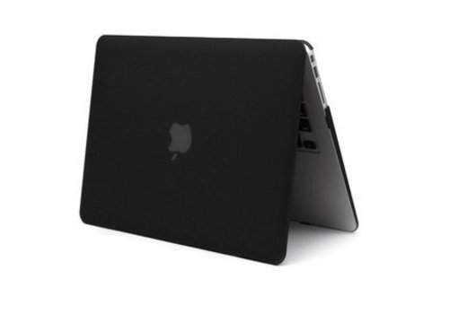 Blu-Basic MacBook Air 13 Hard Plastic Case (Zwart)