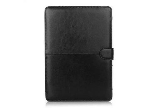 Blu-Basic Macbook Air 13 inch PU Lederen Hoes (Black) voor Apple Macbook Air 13      13