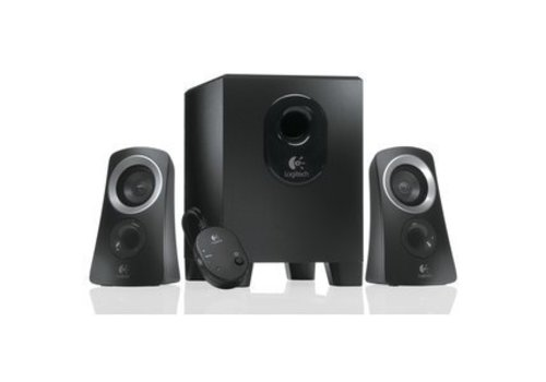 Logitech Z313 2.1 Speakerset 25W - Zwart