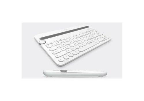Logitech K480 Bluetooth Draadloos Toetsenbord US - Wit