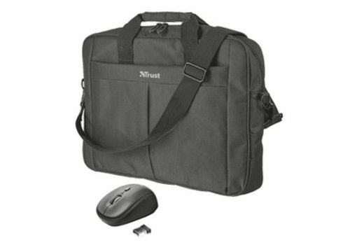 """Trust Primo 16"""" Bag with wireless mouse"""
