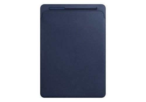 Apple Leather Sleeve iPad Pro 12.9 Inch - Midnight Blue