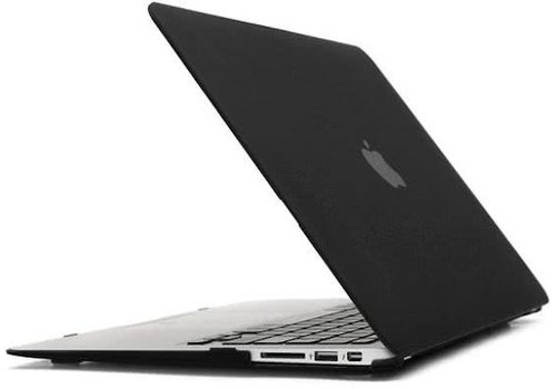 Blu-Basic MacBook Pro 13 Hard Plastic Case (Zwart)