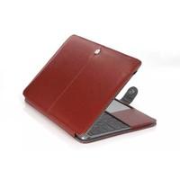 Macbook Air 13 inch PU Lederen Hoes (Bruin) voor Apple Macbook Air 13      13