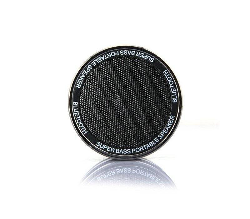 Super Bass Draagbare Bluetooth Speaker 3W - Zwart