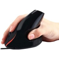 Verticale Ergonomische Muis USB - Zwart
