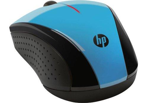 HP X3000 Draadloze Optische Muis - Aqua Blauw