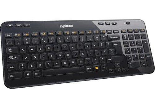 Logitech K360 Draadloos Toetsenbord US - Zwart