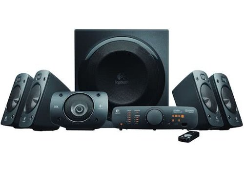 Logitech Z906 5.1 Surround Speakerset 500W - Zwart