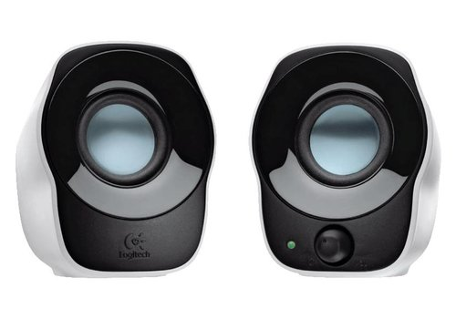 Logitech Z120 2.0 Speakerset 1W - Zwart/Wit
