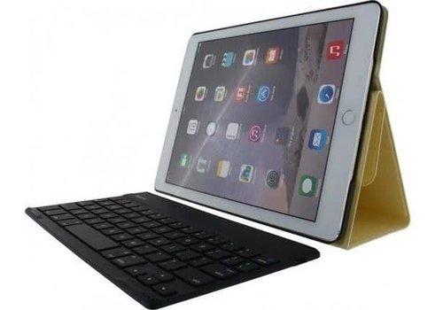 Rock Detachable Bluetooth Keyboard Case Apple iPad Air 2 Goud