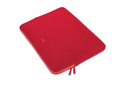 Trust Primo Soft Sleeve 17.3 Inch - Rood