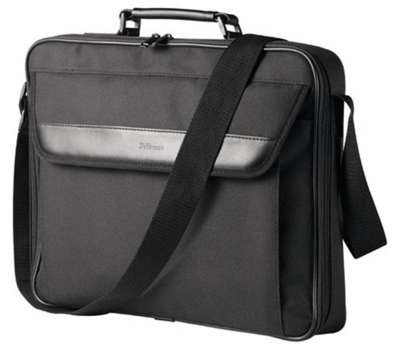 Atlanta Laptoptas voor 17.3 Inch Laptops - Zwart