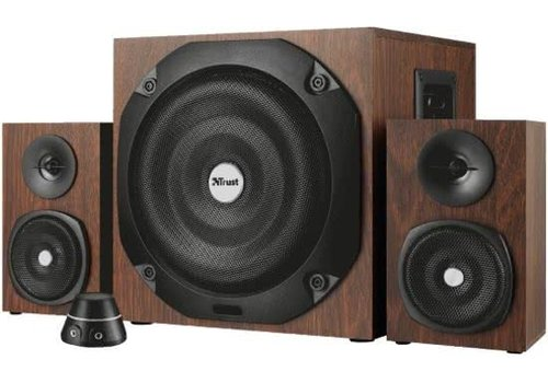 Trust Vigor Draadloze Bluetooth 2.1 Speakerset 100W - Hout