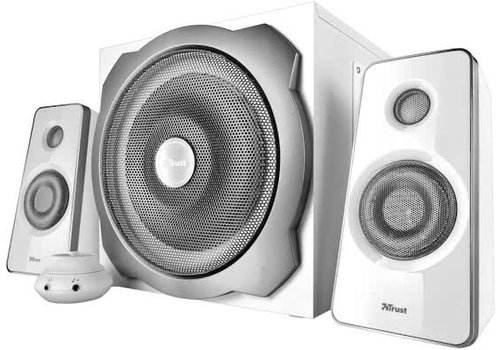 Trust Tytan 2.1 Subwoofer Speakerset 60W - wit