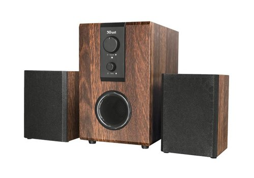 Trust Silva 2.1 Speakerset 32W - Hout