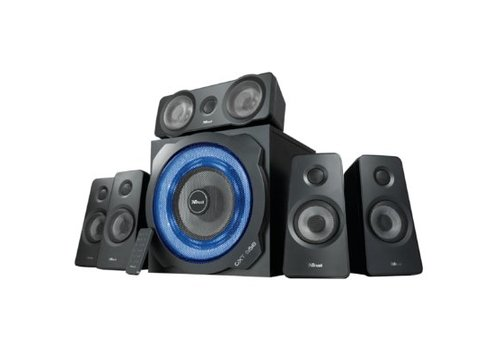 Trust GXT 658 Tytan 5.1 Surround Speaker Set 180W - Zwart