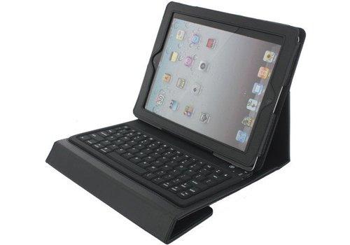 Xccess Lederen Hoes incl Bluetooth Toetsenbord Apple iPad 2