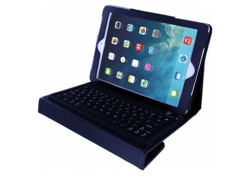 Xccess Leather Case incl. Bluetooth Keyboard iPad - Zwart voor Apple iPad Air / Air2 / iPad 2017 Air