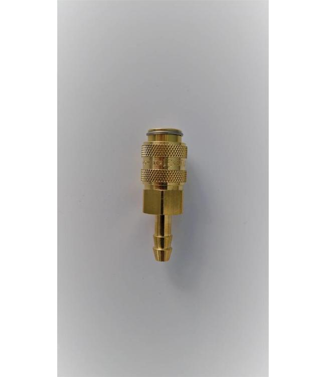 Rectus koppeling 6 mm