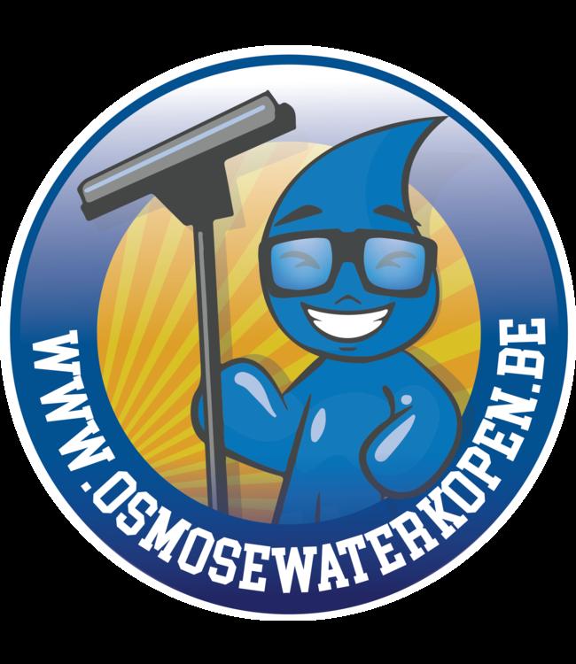 Osmosewater 1000 liter aan huis geleverd