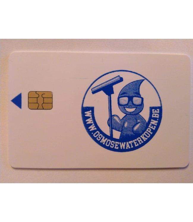 Betaalkaart osmosewater 10€
