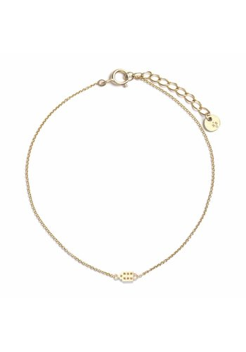 The Jordaan Bracelet 18krt Gold
