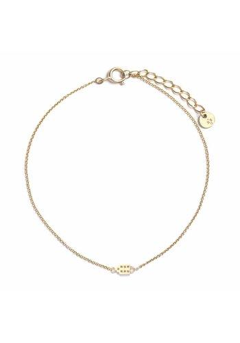 The Jordaan Bracelet Gold Plated