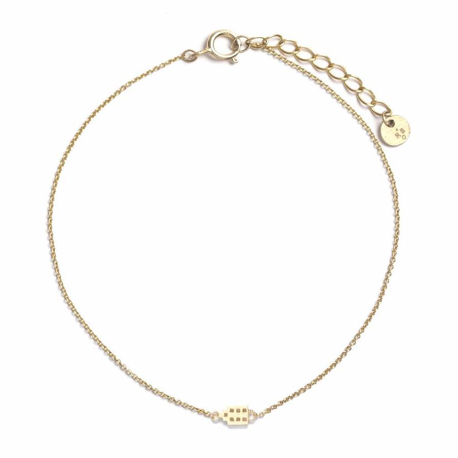 The Jordaan Bracelet Gold Plated-1