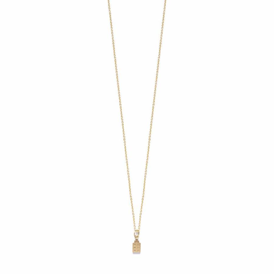 The Jordaan Necklace Gold-1