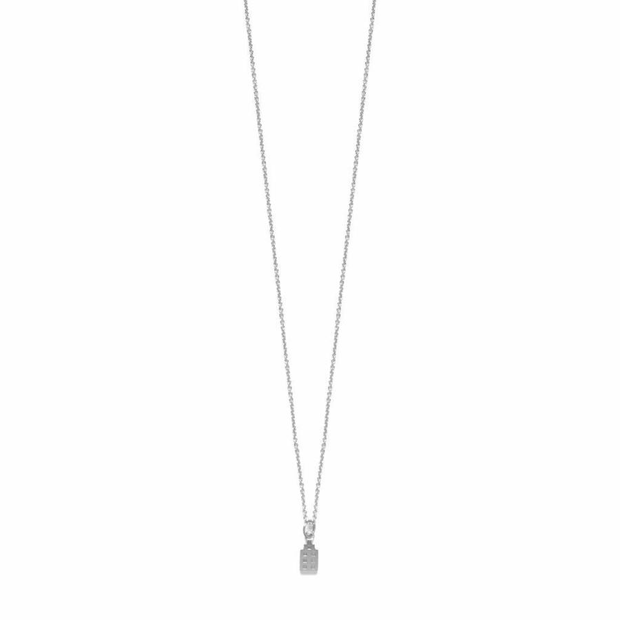 The Jordaan Necklace Silver-1