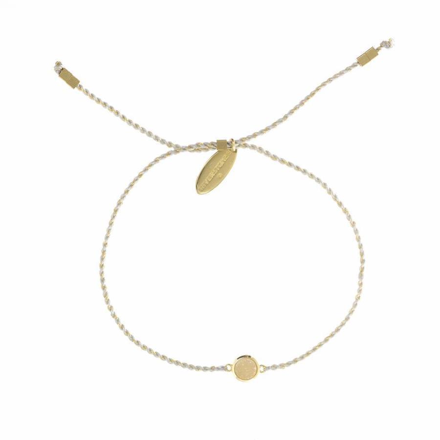 Drusy Bracelet Gold-1