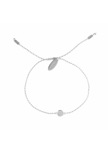 Drusy Bracelet Silver Plated