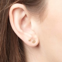thumb-Rise and Shine Studs Gold Plated-2