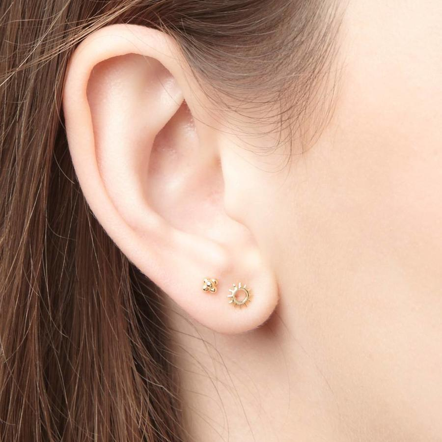 Rise and Shine Studs Gold Plated-2