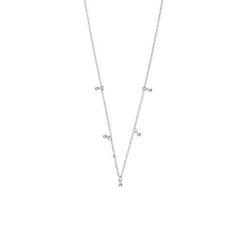 Droplet Necklace Silver