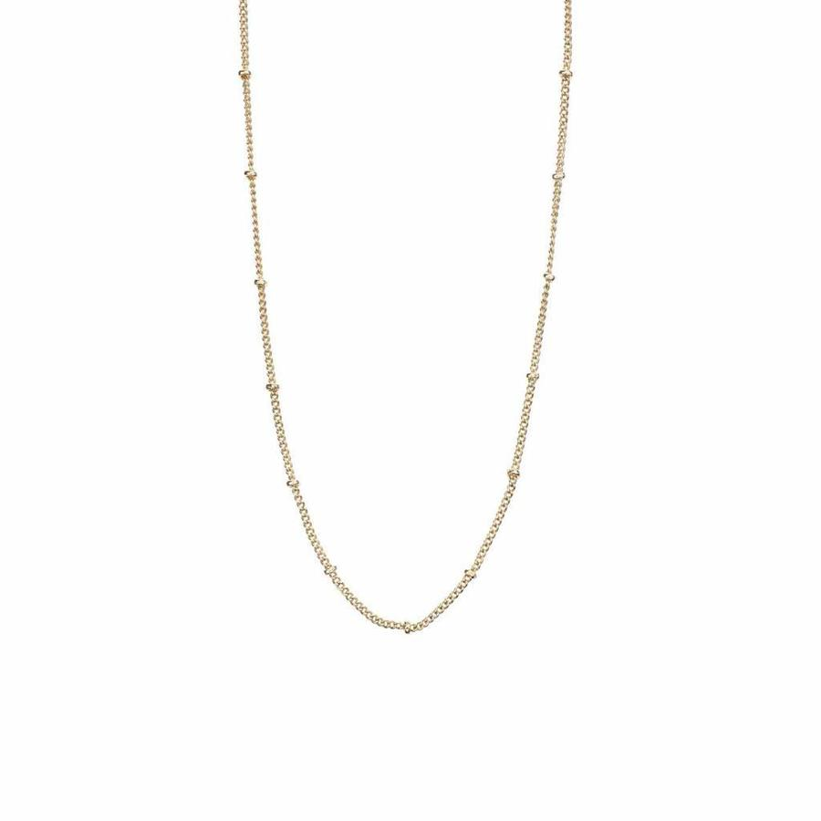 Balance Necklace Gold Plated-1