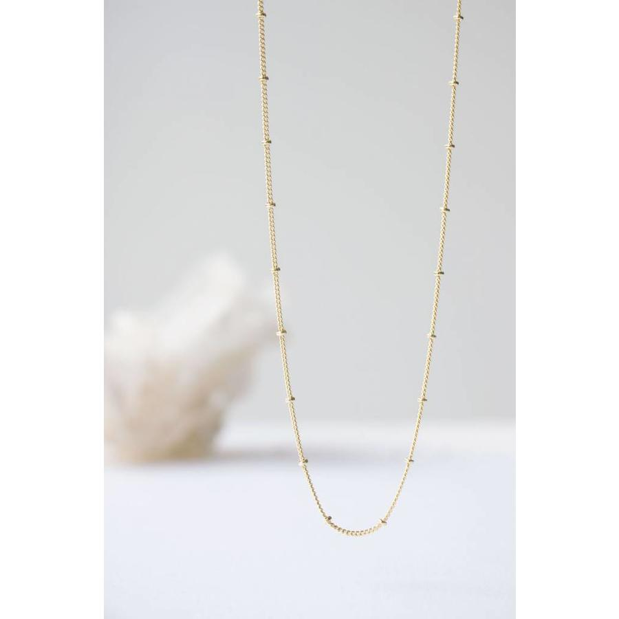 Balance Necklace Gold-3